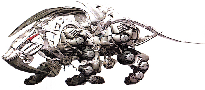 arch for the Zoids Concept Zoid Art