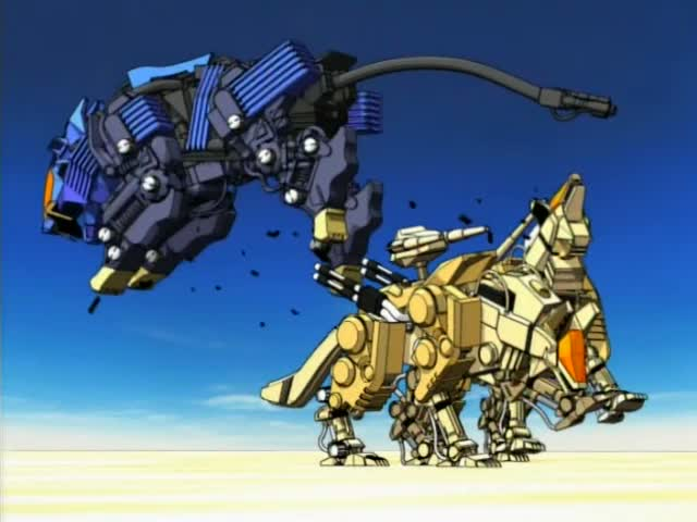 Zoids Shield Liger The gallery for -->...